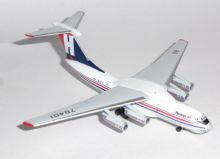 Ilyushin IL-76 Heavylift Cargo Herpa Collectors Model Scale 1:500 532785 E